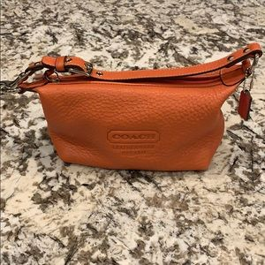 Coach soft pebbled leather small bag